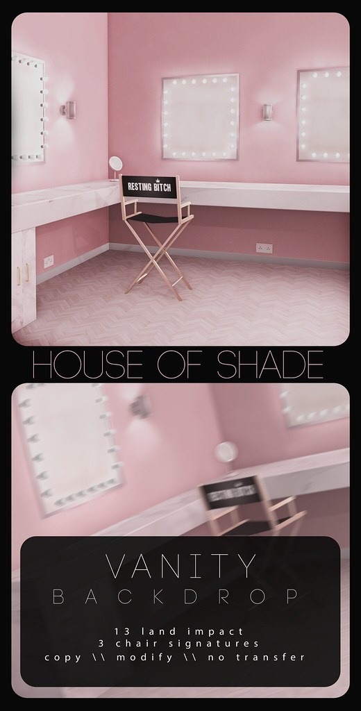 House Of Shade - Vanity Backdrop - TeleportHub.com Live!