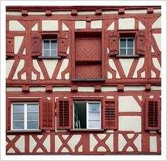 Fachwerk & Umgebinde (timber framed & round-framed houses)