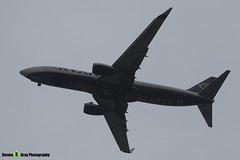 EI-EXF - 40322 - Ryanair - Boeing 737-8AS - Donington - 180402 - Steven Gray - IMG_8582