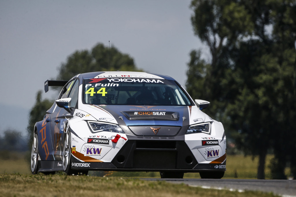 44 FULIN Petr (CZE), Seat Cupra TCR, Fullin Race Academy, action during the 2018 FIA WTCR World Touring Car cup race of Slovakia at Slovakia Ring, from july 13 to 15 - Photo François Flamand / DPPI.