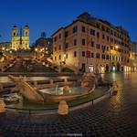 Piazza Spagna, panorama - https://www.flickr.com/people/42627784@N06/