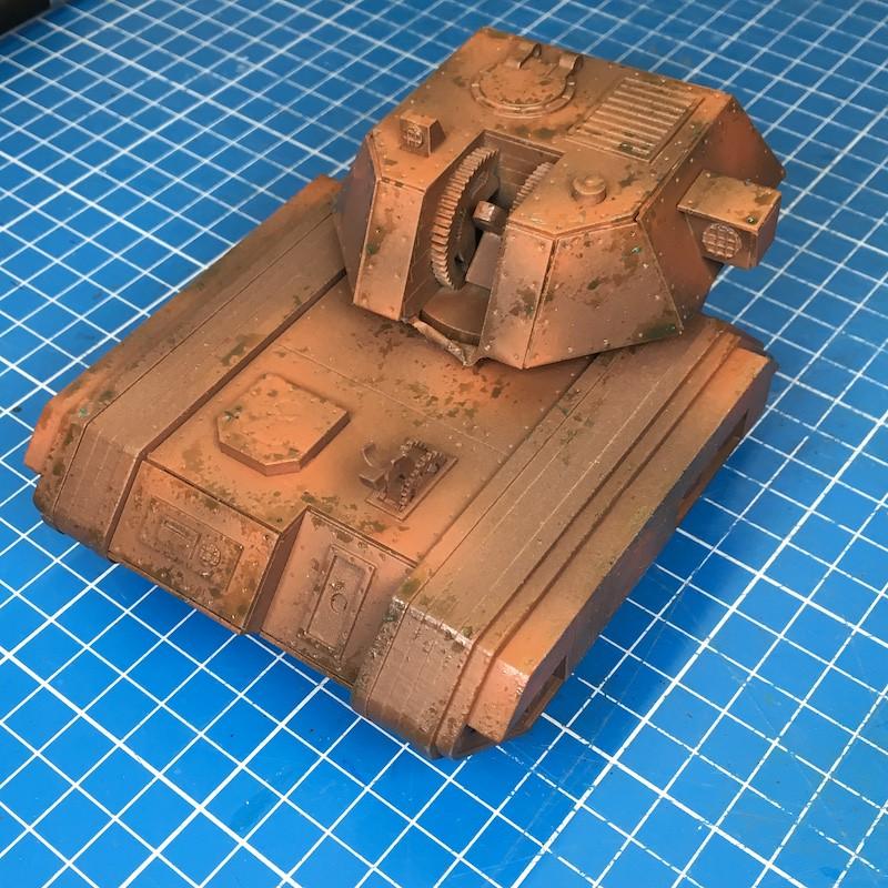Lasercut basilisk tank green-1