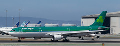 Aer Lingus Airbus A-330-300 at KSFO