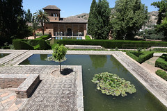 The Alhambra. Palace of the Parhal/Tower of the ladies.