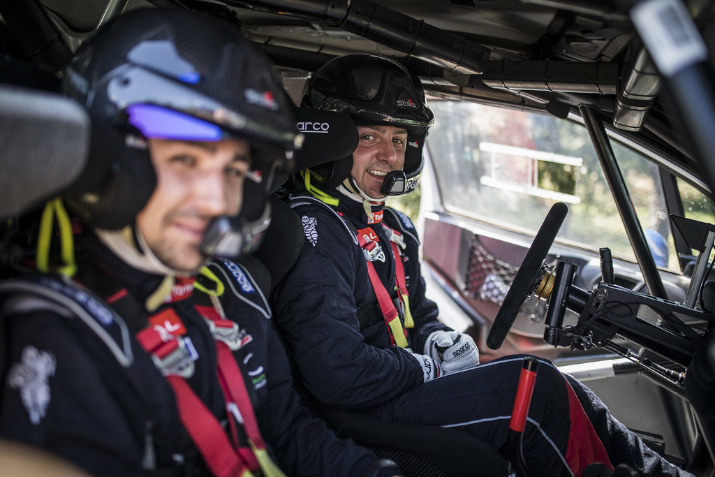 PELLIER Laurent (FRA), Geoffrey Combe FRA), Peugeot Rally Academy, PEUGEOT 208 R5, during the 2018 European Rally Championship ERC Rally di Roma Capitale,  from july 20 to 22 , at Fiuggi, Italia - Photo Gregory Lenormand / DPPI