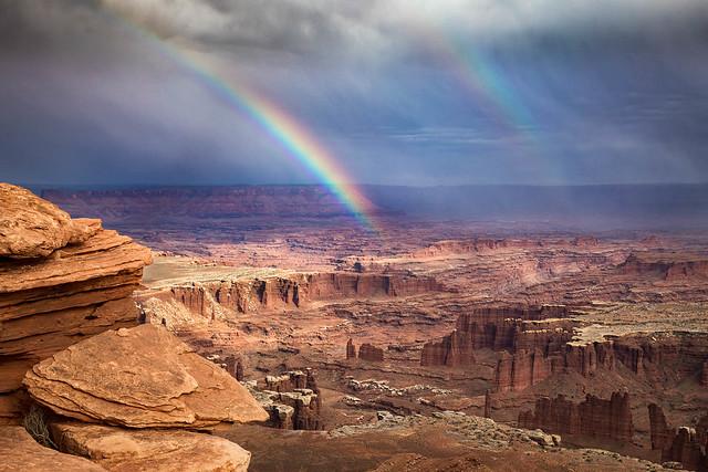 Monument Basin Rainbow