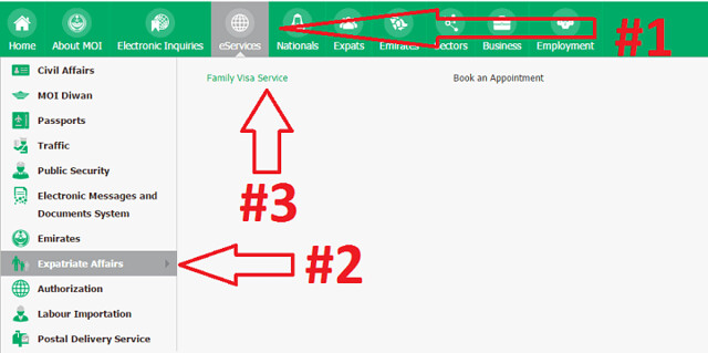 1196 Procedure to Apply for Permanent Family Visa Online 01