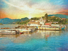 "Corfu 30 ""My passion Paintography"""