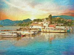 "Corfu 30 ""My passion Paintography"""