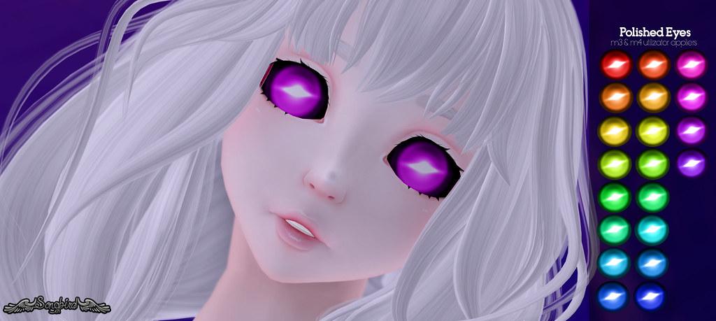 ~SongBird~ Polished Eyes UTI m3/m4 appliers
