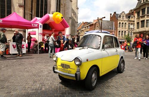 Straatanimatie met Scubabianchi @De Langste Dag in Leuven (23/06/2018)