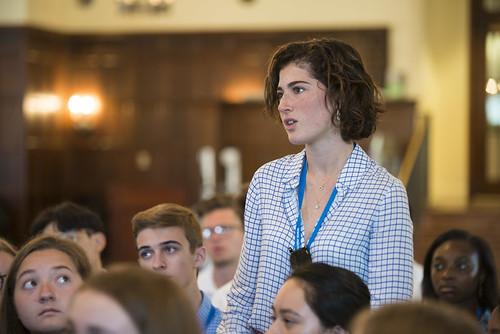 #NSLCINTL Students Meet Hon. RIchard Schmierer