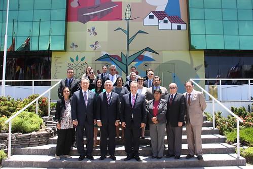 Países de Centroamérica sostienen reunión de trabajo con la República de China (Taiwán) de cara a la Comisión Mixta de Cooperación