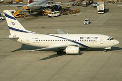 El AL Boeing 737-758 4X-EKD (c/n 29960)