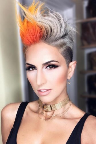 60+Pretty Ladies Short Haircuts -They Have Dreamt Of This Hairstyles 7