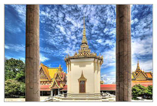 Phnom Penh K - The throne hall inside the Royal Palace complex 08