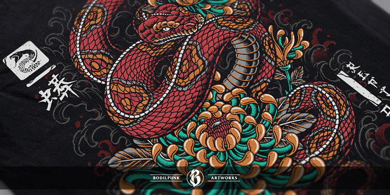 Details - Oriental Snake