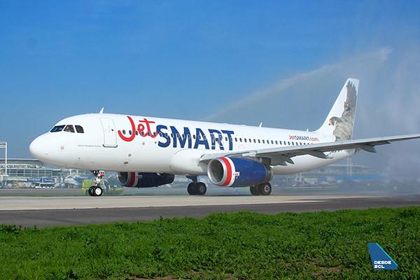 JetSMART A320 Akori Arco de Agua (Luis Colima)