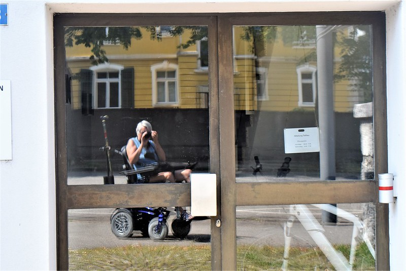 Reflection of me Baselstrasse 25.07.2018