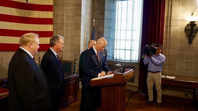 Gov. Ricketts Signs Tax Relief for Nebraskans on National Tax Day