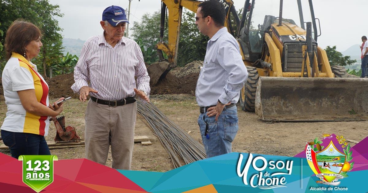Continúan trabajos para la planta de agua potable de San Antonio