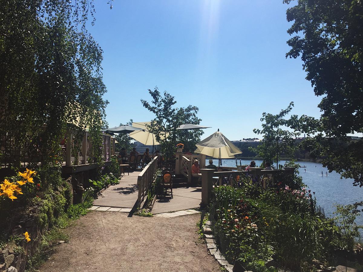 Helsingin parhaat kesäkahvilat