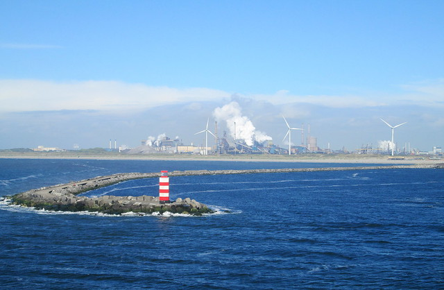 IJmuiden, The Netherlands From the Sea