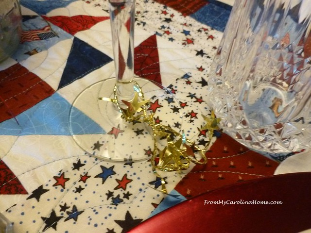 Vintage Fourth Tablescape at From My Carolina Home