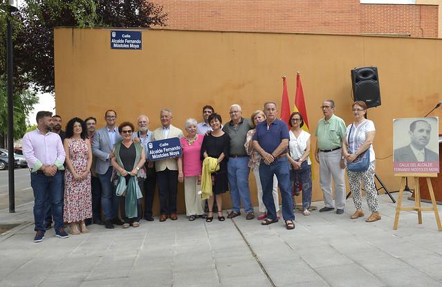 Calle Alcalde Fernando Móstoles