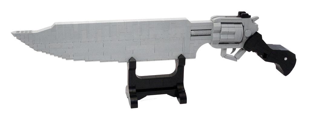 LEGO® MOC by Vitreolum: Squall's Gunblade