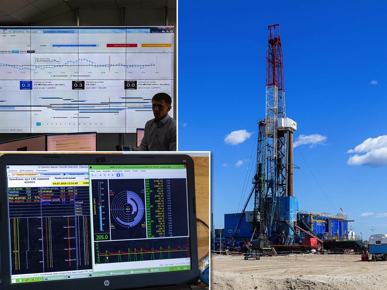 Как добывают нефть в Ханты-Мансийске