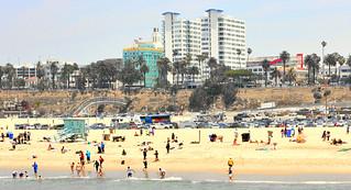 Santa Monica (Baywatch) beach