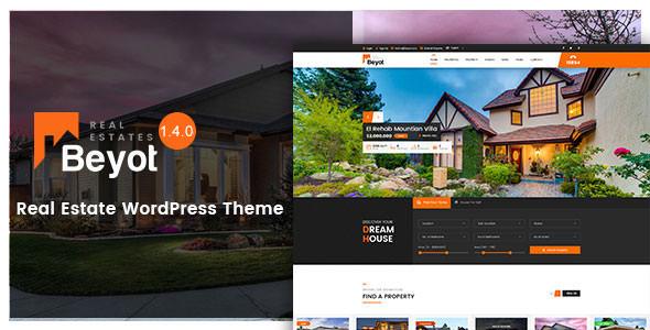 BEYOT v1.4.0 – WordPress Real Estate Theme