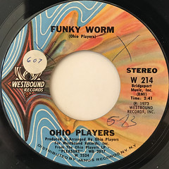 OHIO PLAYERS:FUNKY WORM(LABEL SIDE-A)
