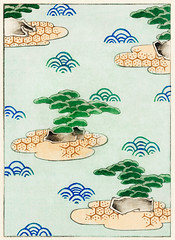 Landscape illustration from Bijutsu Sekai (1893-1896) by Watanabe Seitei, a prominent Kacho-ga artist. Digitally enhanced from our own original edition.