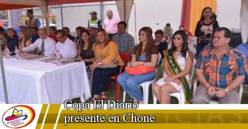 Copa El Diario presente en Chone