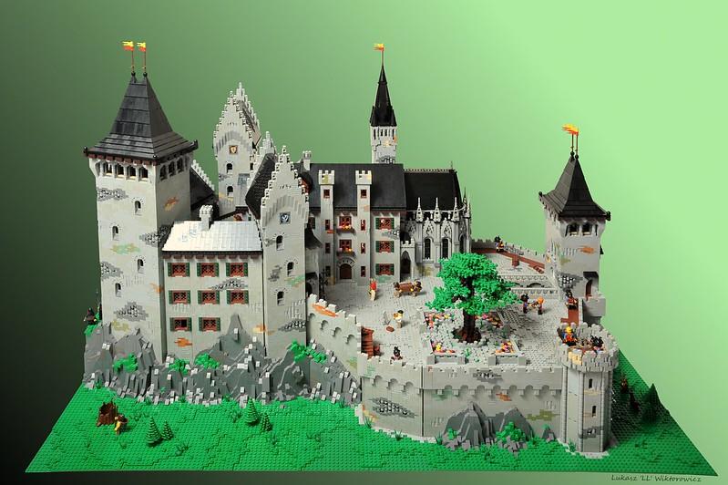 lego moc castle