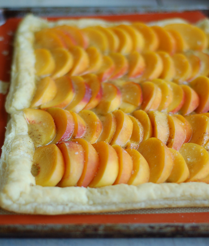 Peach Frangipane Tart by Eve Fox, the Garden of Eating, copyright 2016