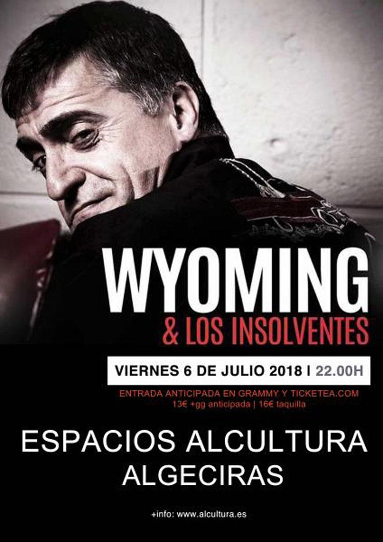 Cartel concierto Wyoming2