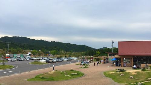 新名神高速道 甲南PA(上り)