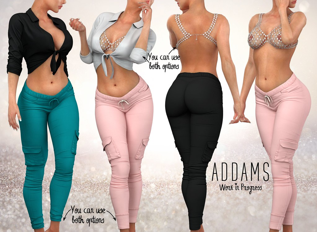 Addams WIP & Giveaway ♥