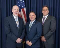 Rep. Sampson with fellow Conservative Caucus members Sen. Joe Markley and Rep. John Fusco.