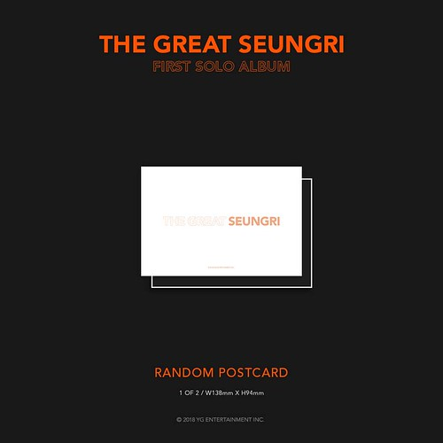 Seungri THE GREAT SEUNGRI Solo Album 2018 (17)