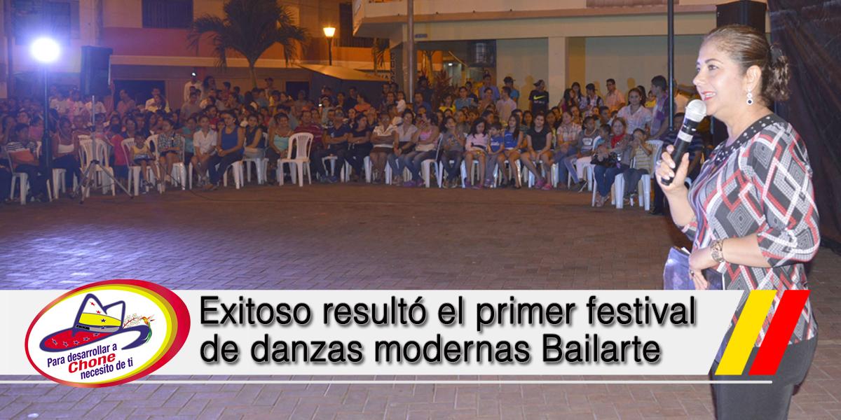 Exitoso resultó el primer festival de danzas modernas Bailarte