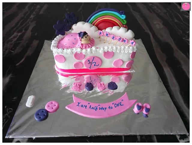 Cake by Rohini's Wake and Bake Cakes.