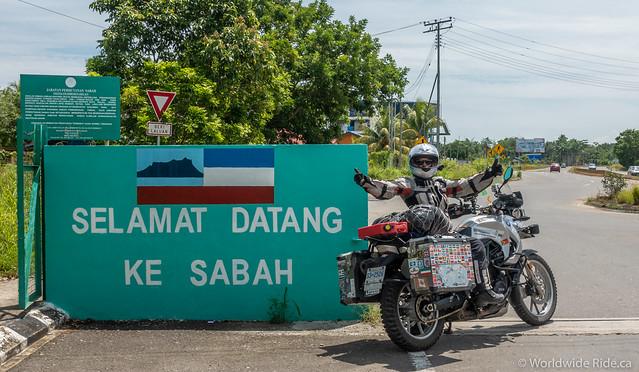 Sabah Border