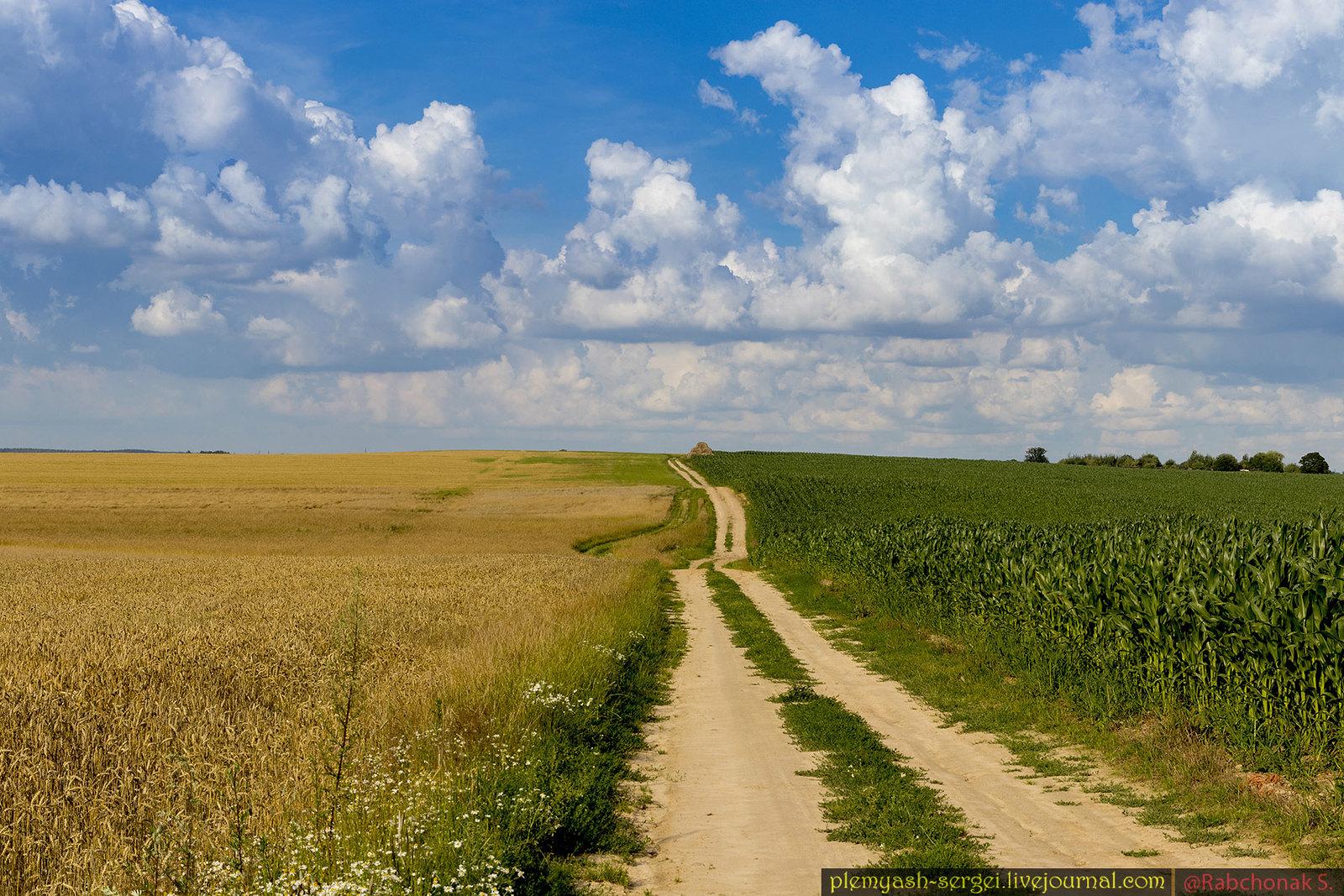 One rural road