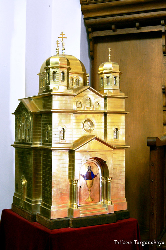 Макет церкви Св.Николая