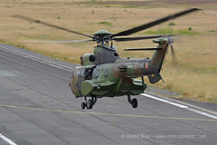 French Army ALAT AS532 Cougar helicopter