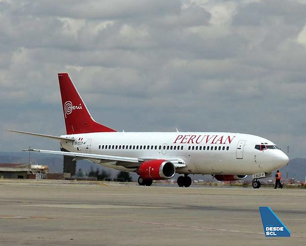 Peruvian Airlines B737-300 LPB (Fernando Ruiz)